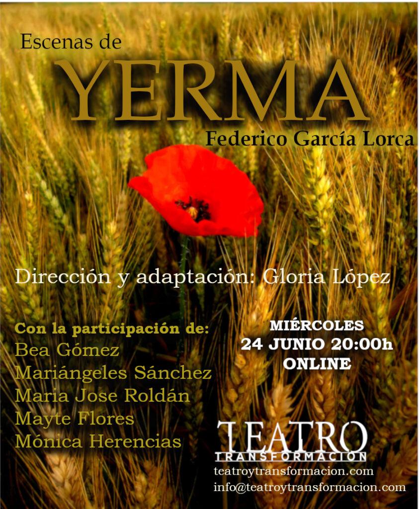 Yerma - Teatro y Transformación